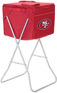 Picnic Time NFL San Francisco 49ers Party Cube
