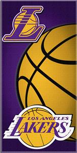 Northwest NBA LA Lakers 30&quot;x60&quot; Beach Towel