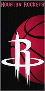 "Northwest NBA Houston Rockets 30""x60"" Beach Towel"