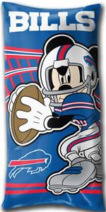 Northwest NFL Buffalo Bills Mickey Pillows