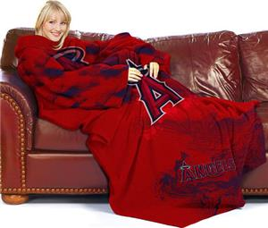 Northwest MLB LA Angels Adult Fleece Comfy Throw