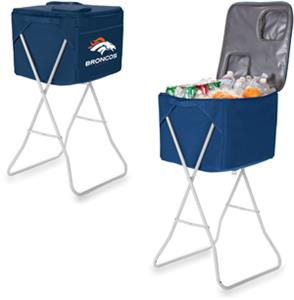 Picnic Time NFL Denver Broncos Party Cube