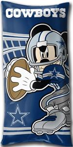 Northwest NFL Dallas Cowboys Mickey Pillows