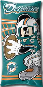 Northwest NFL Miami Dolphins Mickey Pillows