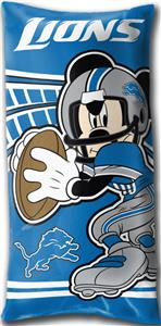 Northwest NFL Detroit Lions Mickey Pillows