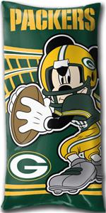 Northwest NFL Green Bay Packers Mickey Pillows