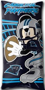 Northwest NFL Carolina Panthers Mickey Pillows