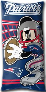 Northwest NFL New England Patriots Mickey Pillows