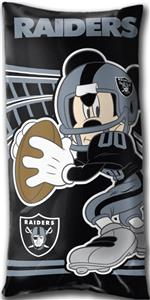 Northwest NFL Oakland Raiders Mickey Pillows