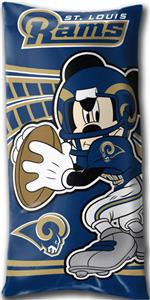 Northwest NFL St. Louis Rams Mickey Pillows
