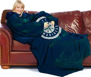 Northwest MLB Seattle Mariners Adult Fleece Throw