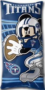 Northwest NFL Tennessee Titans Mickey Pillows