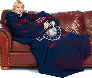 Northwest MLB Nationals Adult Fleece Comfy Throw