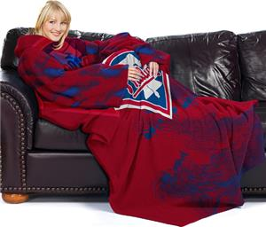 Northwest MLB Phillies Adult Fleece Comfy Throw