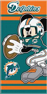 Northwest NFL Miami Dolphins MM Beach Towels