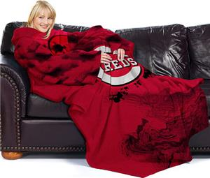 Northwest MLB Cincinnati Reds Adult Fleece Throw