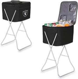 Picnic Time NFL Oakland Raiders Party Cube