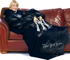 Northwest MLB New York Yankees Adult Fleece Throw