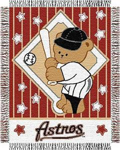 Northwest MLB Astros Baby Triple Woven Throw
