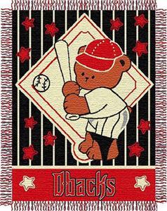 Northwest MLB Diamondbacks Baby Triple Woven Throw