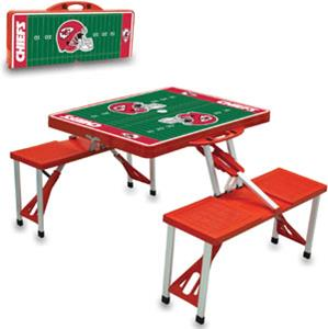 Picnic Time NFL Kansas City Chiefs Picnic Table