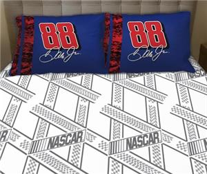 Northwest Nascar Dale Earnhardt JR Twin Sheet Set