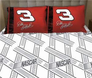 Northwest Nascar Dale Earnhardt SR Twin Sheet Set