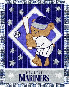 Northwest MLB Mariners Baby Triple Woven Throw