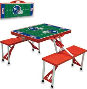 Picnic Time NFL New York Giants Picnic Table