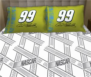 Northwest Nascar Carl Edwards Twin Sheet Set