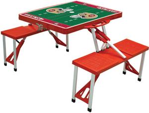 Picnic Time NFL San Francisco 49ers Picnic Table