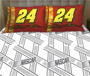 Northwest Nascar Jeff Gordon Twin Sheet Set