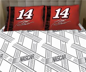 Northwest Nascar Tony Stewart Twin Sheet Set
