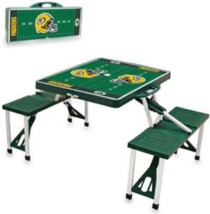 Picnic Time NFL Green Bay Packers Picnic Table