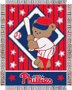 Northwest MLB Phillies Baby Triple Woven Throw