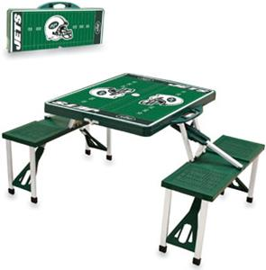 Picnic Time NFL New York Jets Picnic Table