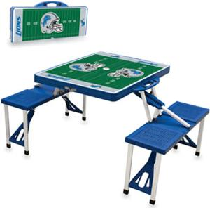 Picnic Time NFL Detroit Lions Picnic Table