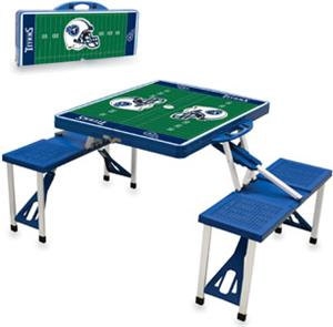Picnic Time NFL Tennessee Titans Picnic Table