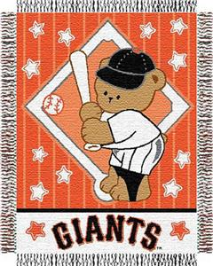 Northwest MLB Giants Baby Triple Woven Throw