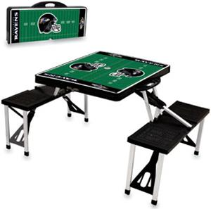 Picnic Time NFL Baltimore Ravens Picnic Table