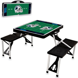 Picnic Time NFL Carolina Panthers Picnic Table