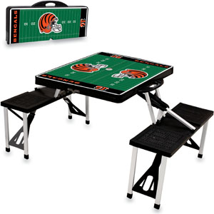 Picnic Time NFL Cincinnati Bengals Picnic Table