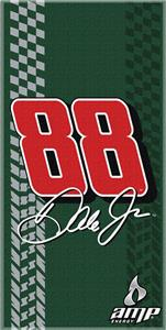 "Northwest Nascar Dale Earnhardt Jr 30""x60"" Towel"