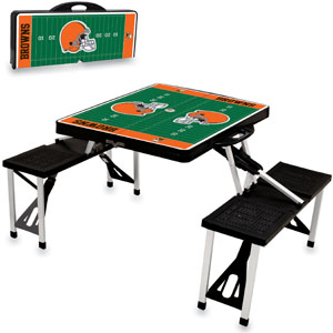 Picnic Time NFL Cleveland Browns Picnic Table