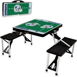 Picnic Time NFL Dallas Cowboys Picnic Table