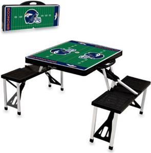 Picnic Time NFL Denver Broncos Picnic Table