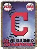 Northwest MLB Indians Commemorative Throw