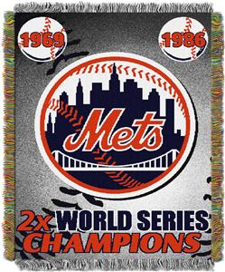Northwest MLB New York Mets Commemorative Throw