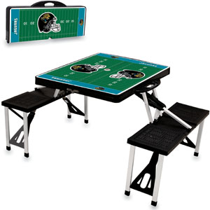 Picnic Time NFL Jacksonville Jaguars Picnic Table