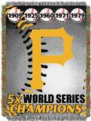 Northwest MLB Pirates Commemorative Throw